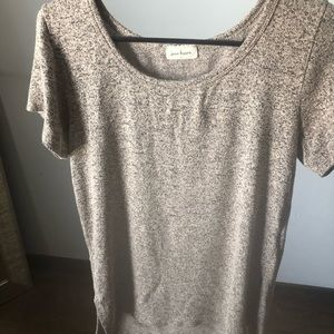 Soft heathered t-shirt
